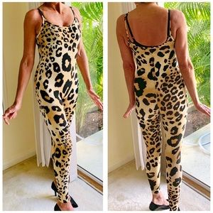 Forever 21 | Stretch Cheetah Jumpsuit